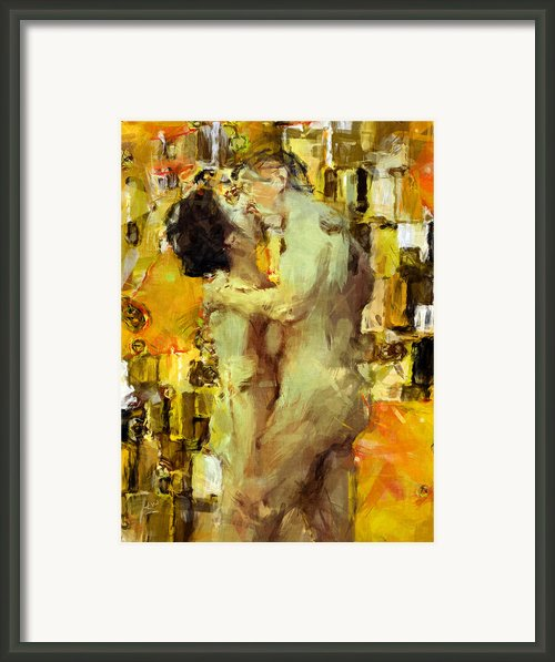 Hold Me Tight Framed Print By Kurt Van Wagner
