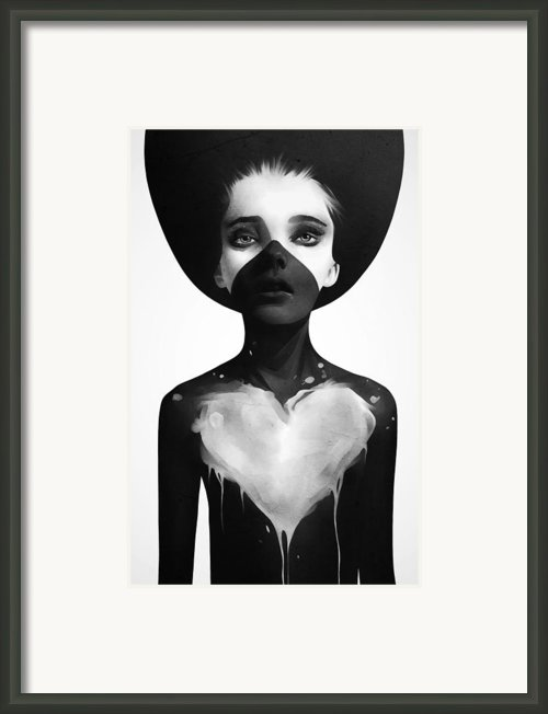 Hold On Framed Print By Ruben Ireland