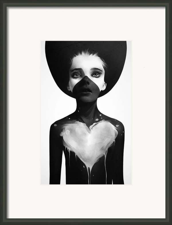 Hold On Framed Print By Ruben Ireland
