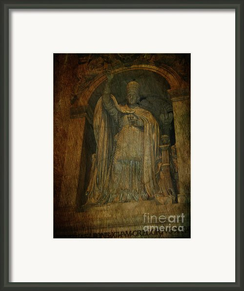 Holy Glory Framed Print By Lee Dos Santos