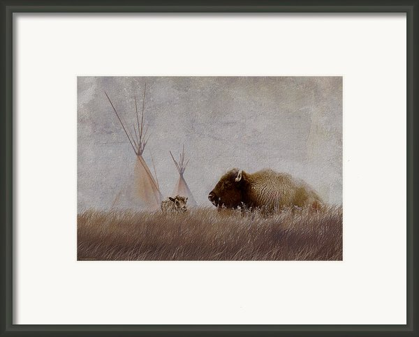 Home On The Range Framed Print By Ron Jones