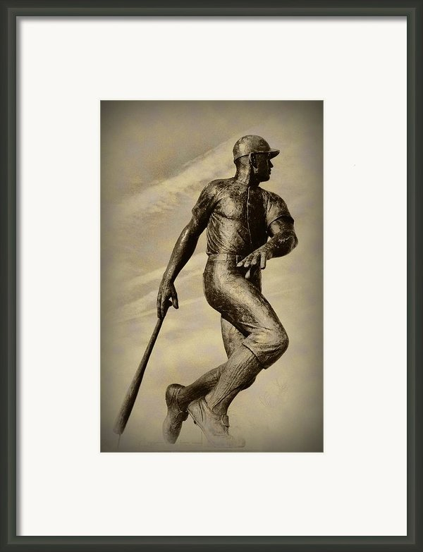 Home Run Framed Print By Bill Cannon