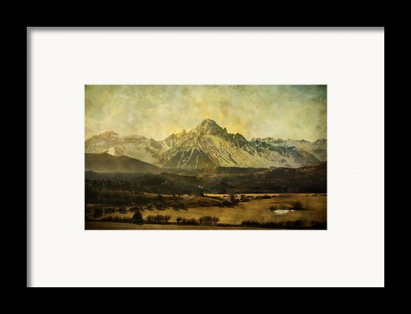 Home Series - The Grandeur Framed Print By Brett Pfister