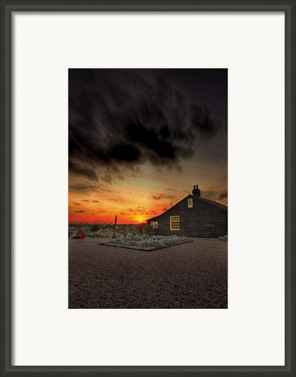 Home To Derek Jarman Framed Print By Lee-anne Rafferty-evans