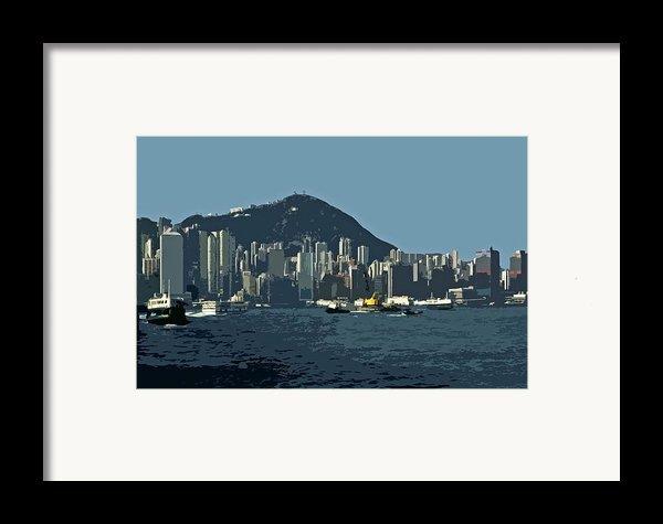 Hong Kong Island ... Framed Print By Juergen Weiss