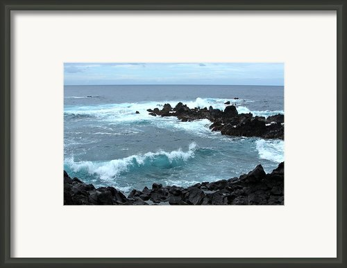 Honolulunui Bay Maui Framed Print By Karon Melillo Devega