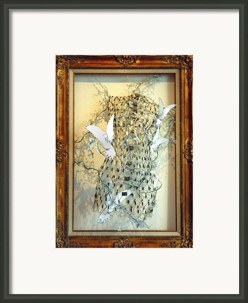 Hope Diamond Framed Print By Anahi Decanio