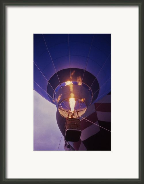 Hot Air Balloon - 2 Framed Print By Randy Muir