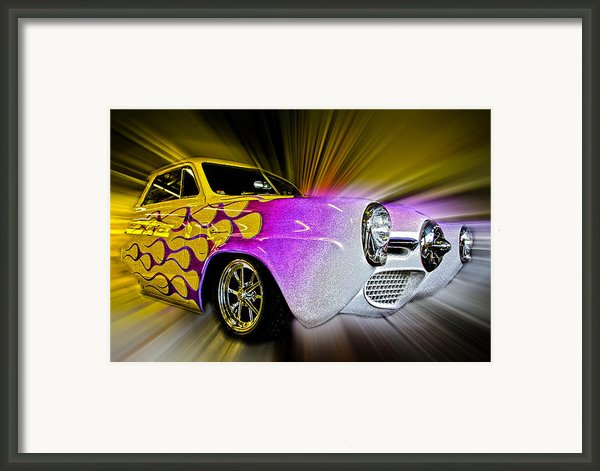 Hot Rod Art Framed Print By Steve Mckinzie