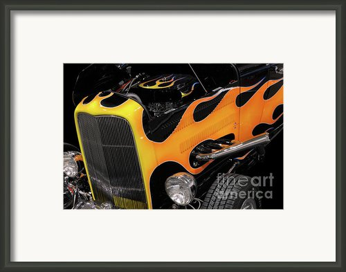 Hot Rod Framed Print By Oleksiy Maksymenko