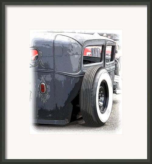 Hot Rods Forever Framed Print By Steve Mckinzie