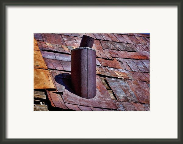Hot Tin Roof Framed Print By Kelley King