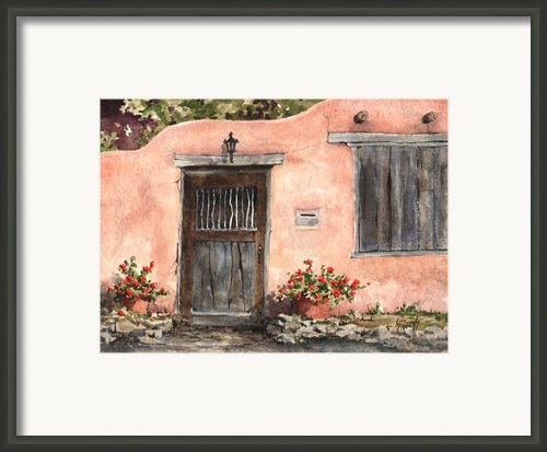 House On Delgado Street Framed Print By Sam Sidders