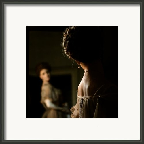 How Do I Look Framed Print By Angel  Tarantella
