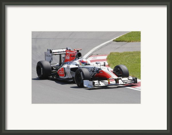 Hrt  Framed Print By Art Ferrier