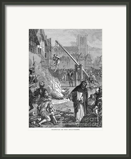 Huguenots: Persecution Framed Print By Granger