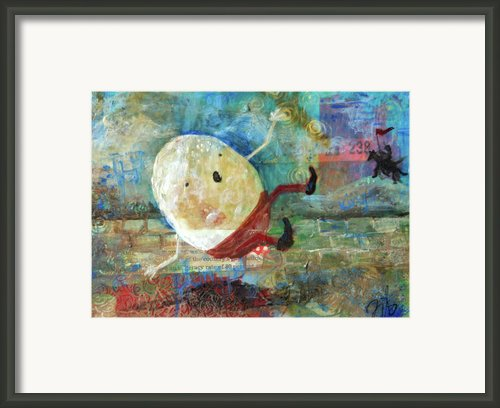 Humpty Dumpty Framed Print By Jennifer Kelly