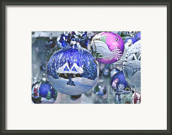 Hung With Love Framed Print By Christine Till