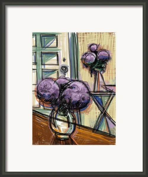 Hydrangeas Galore Framed Print By Russell Pierce
