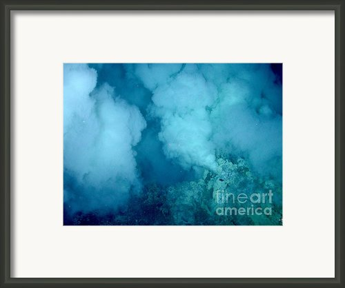Hydrothermal Smoker Vent Framed Print By Science Source