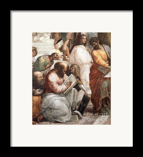 Hypatia Of Alexandria, Mathematician Framed Print By Science Source
