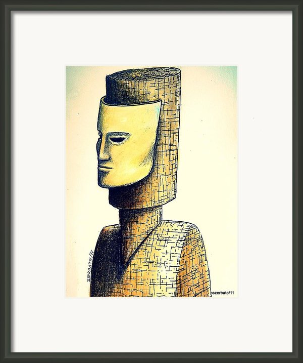 Hypertrophy Of Consciousness Framed Print By Paulo Zerbato