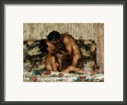 I Adore You Framed Print By Kurt Van Wagner