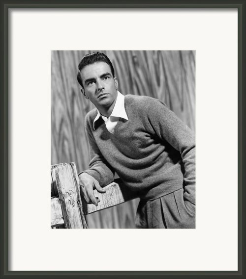 I Confess, Montgomery Clift, 1953 Framed Print By Everett
