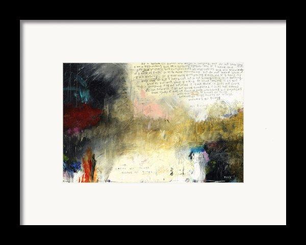 I Corinthians 13 Framed Print By Michel  Keck