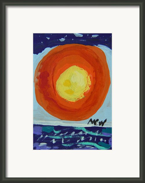 I Like A Full Sun Framed Print By Mary Carol Williams