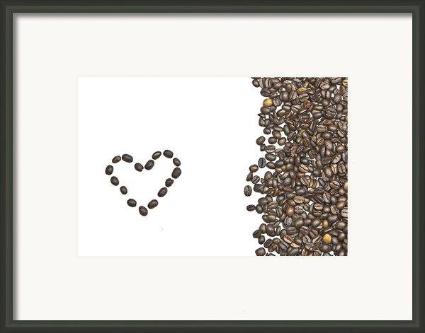 I Love Coffee Framed Print By Joana Kruse
