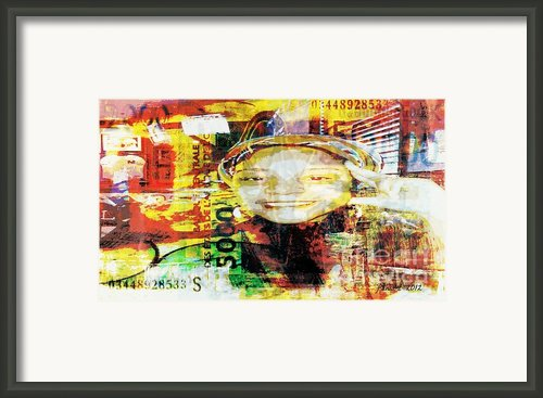 I Loved I Paid  Framed Print By Fania Simon