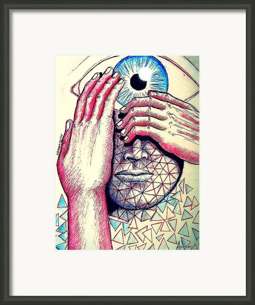 I Think The What I Think Others Also Are Thinking Framed Print By Paulo Zerbato