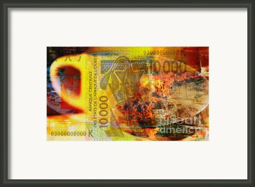 I Trusted I Loved I Paid Framed Print By Fania Simon