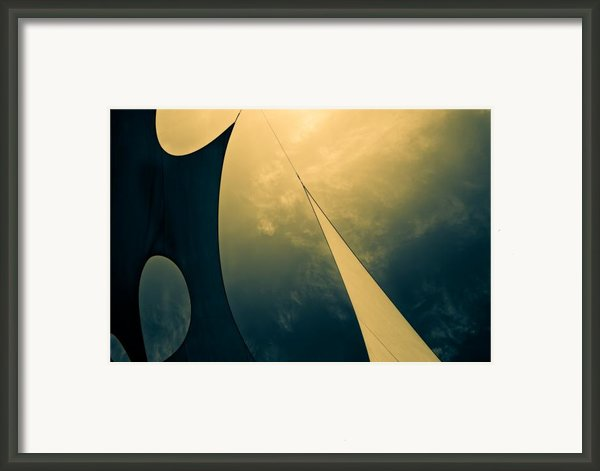 Icarus Journey To The Sun Framed Print By Bob Orsillo