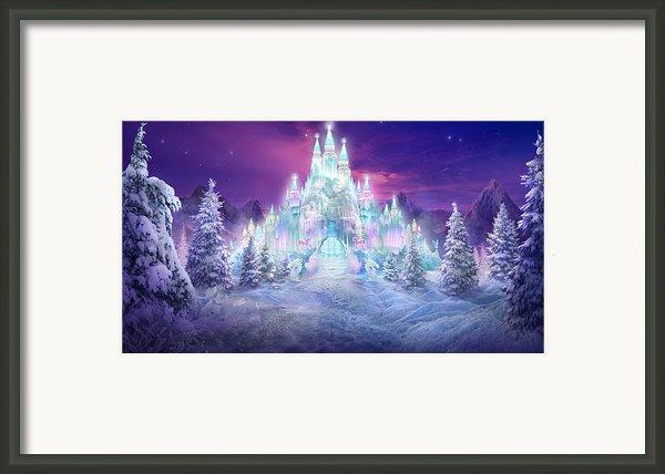 Ice Castle Framed Print By Philip Straub