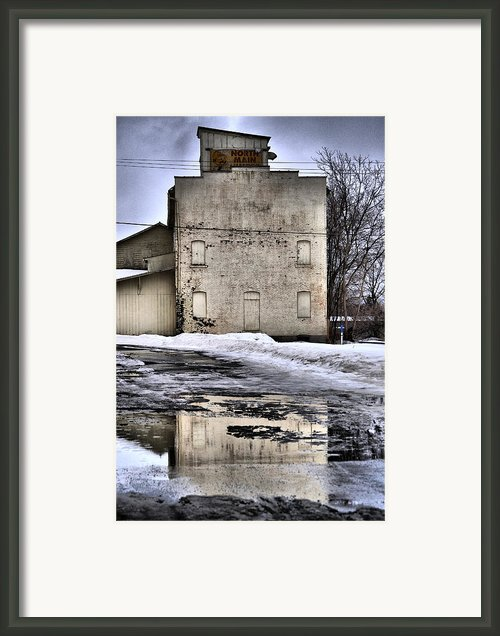 Ice Cold  Framed Print By Emily Stauring