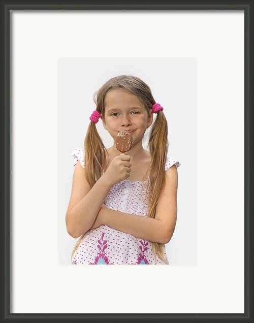 Ice Cream Framed Print By Joana Kruse