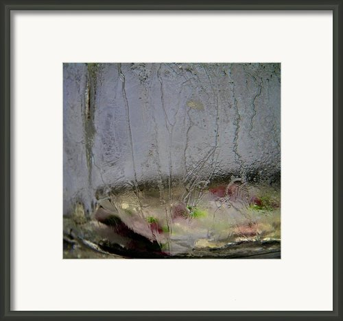 Ice Framed Print By Odd Jeppesen