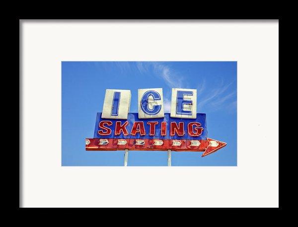 Ice Skating Framed Print By Matthew Bamberg