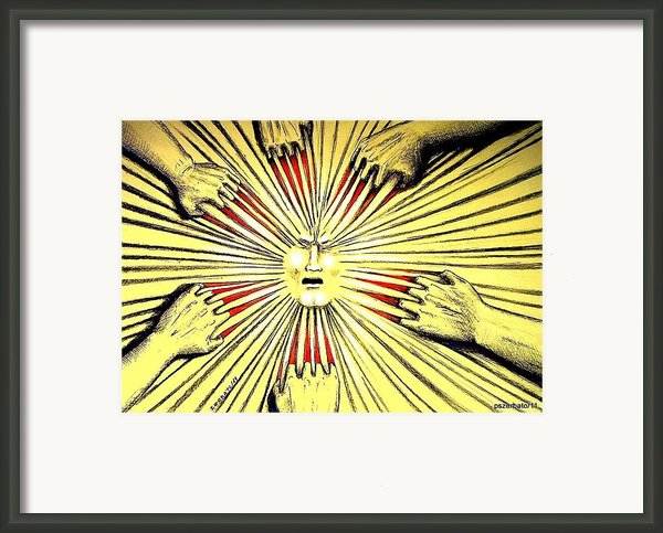If Not For Love Will Be By Pain Framed Print By Paulo Zerbato