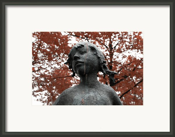 If Trees Could Cry Framed Print By Stefan Kuhn