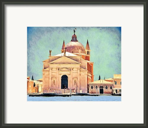 Il Redentore Framed Print By Jeff Kolker