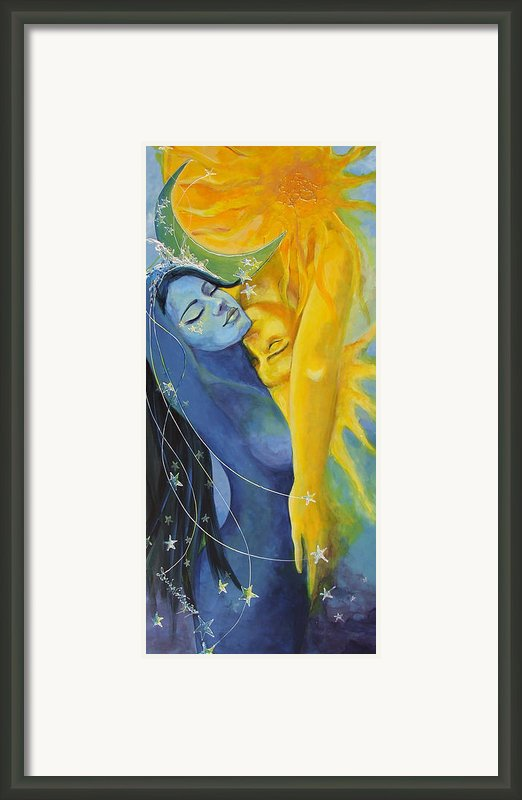 Ilusion From Impossible Love Series Framed Print By Dorina  Costras