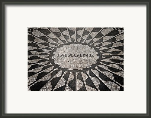 Imagine Framed Print By Benjamin Matthijs