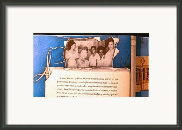 Imelda Marcos 1967 Framed Print By Glenn Bautista