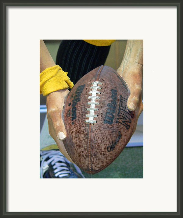 Immaculate Reception Framed Print By David Bearden