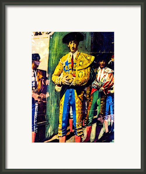 Immortalized Framed Print By Olden Mexico