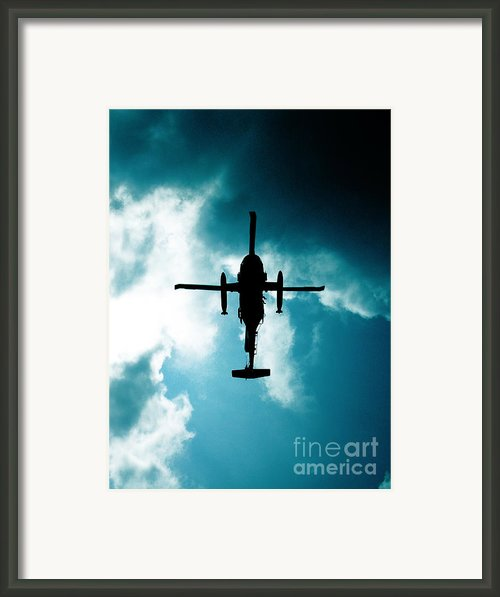 Impending Doom Framed Print By Lj Lambert