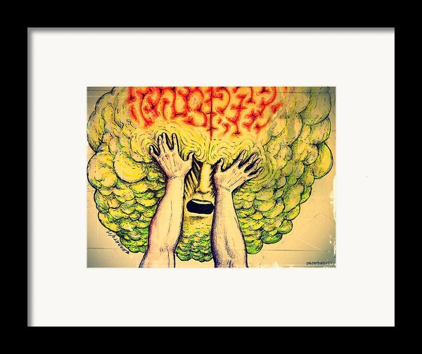 Imposition Of Desires Framed Print By Paulo Zerbato